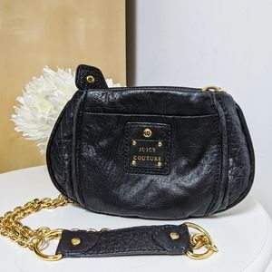 JUICY COUTURE crossbody bag vintage chain leather